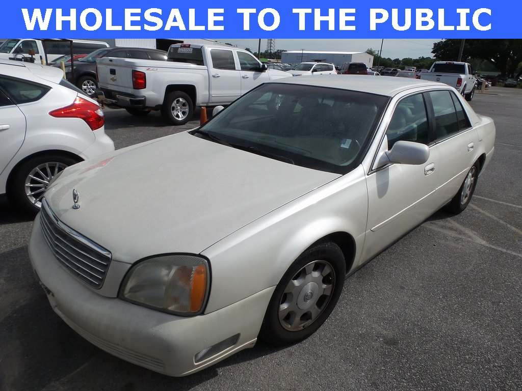 Pre-Owned 2002 Cadillac DeVille Base