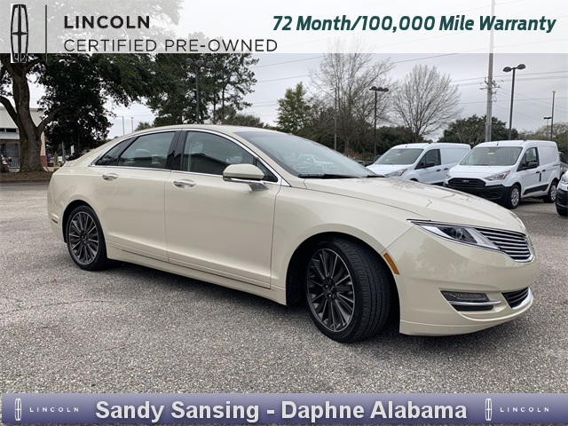 Certified Pre Owned 2016 Lincoln Mkz Reserve
