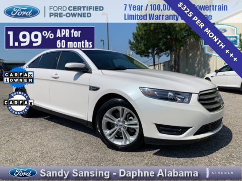 Certified Pre-Owned 2018 Ford Taurus SEL